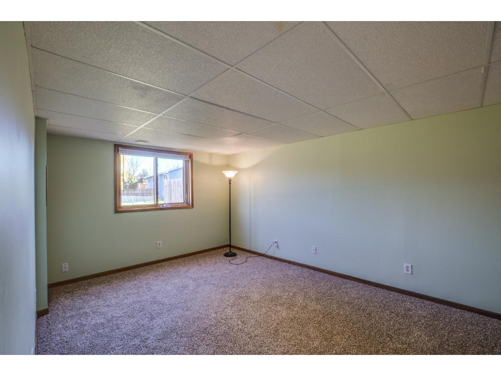 Spacious bedroom on the lower level!