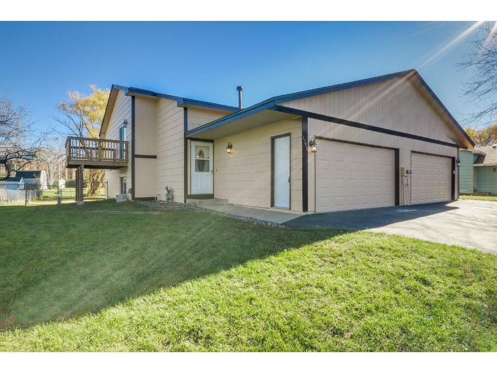 5 year old roof, newer driveway, and a new smart garage door opener!