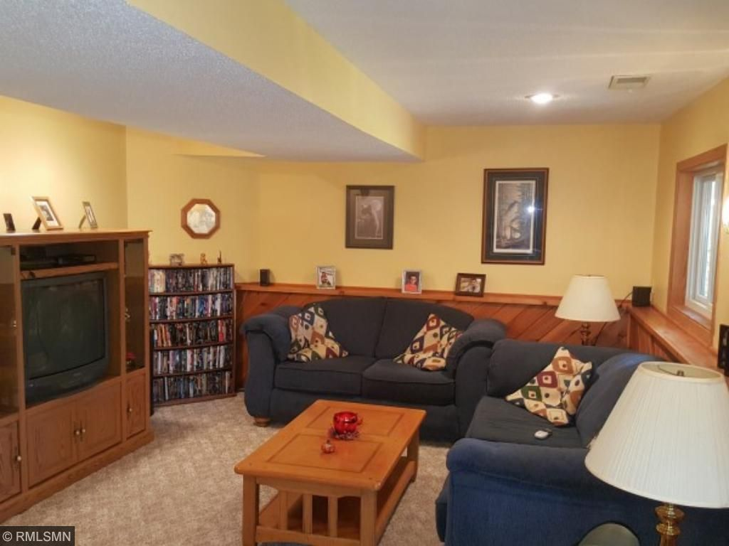 Great family room on lower level
