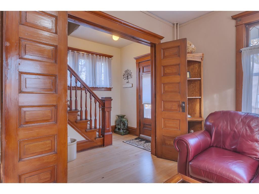 Home features original hardwood throughout