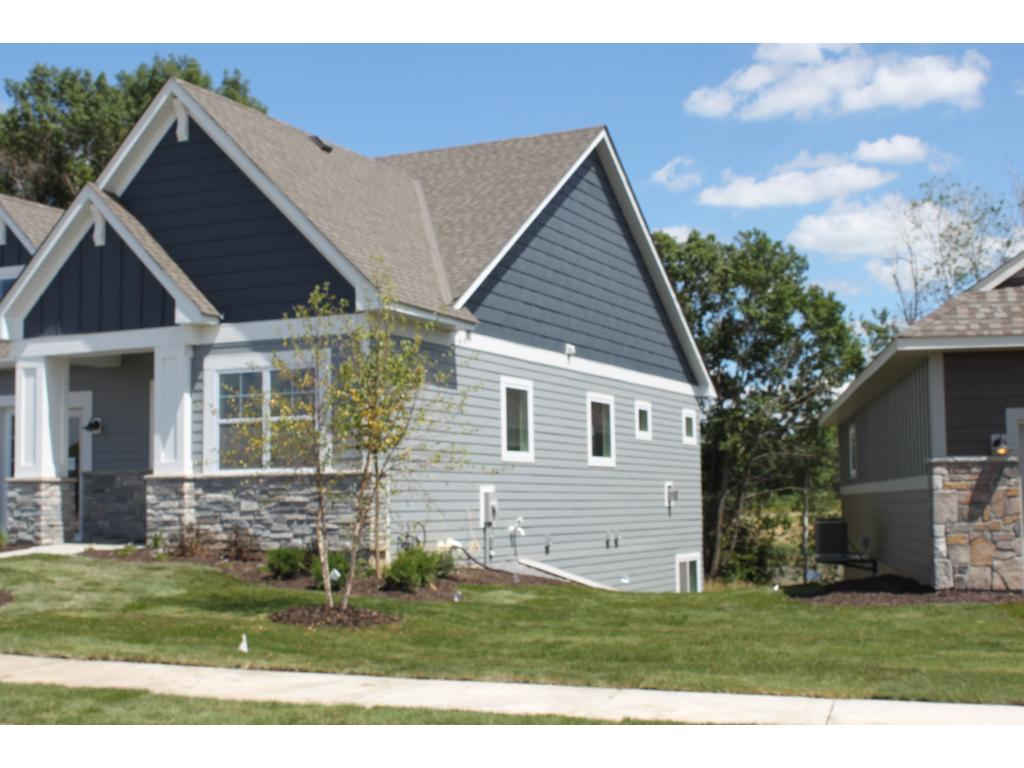 Side of home where LP Smartside Lap and shake siding is used on all four sides of the home.