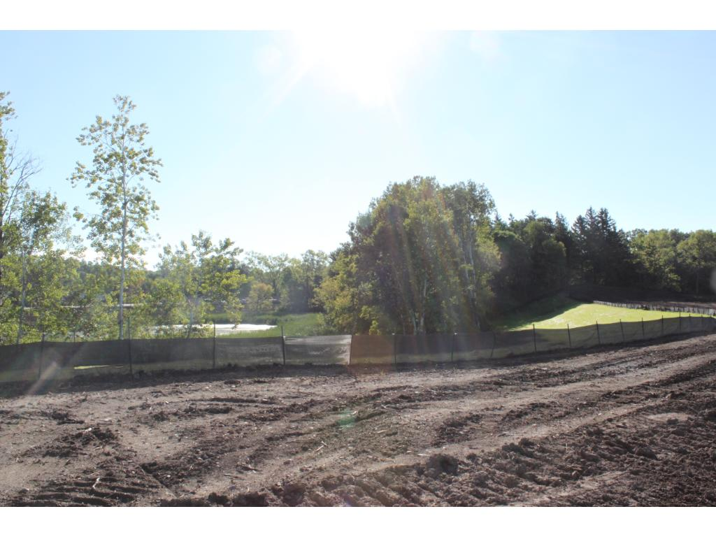 Homesite before construction begins.