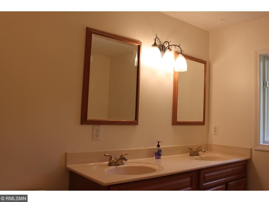 Double vanity in this large full bath!