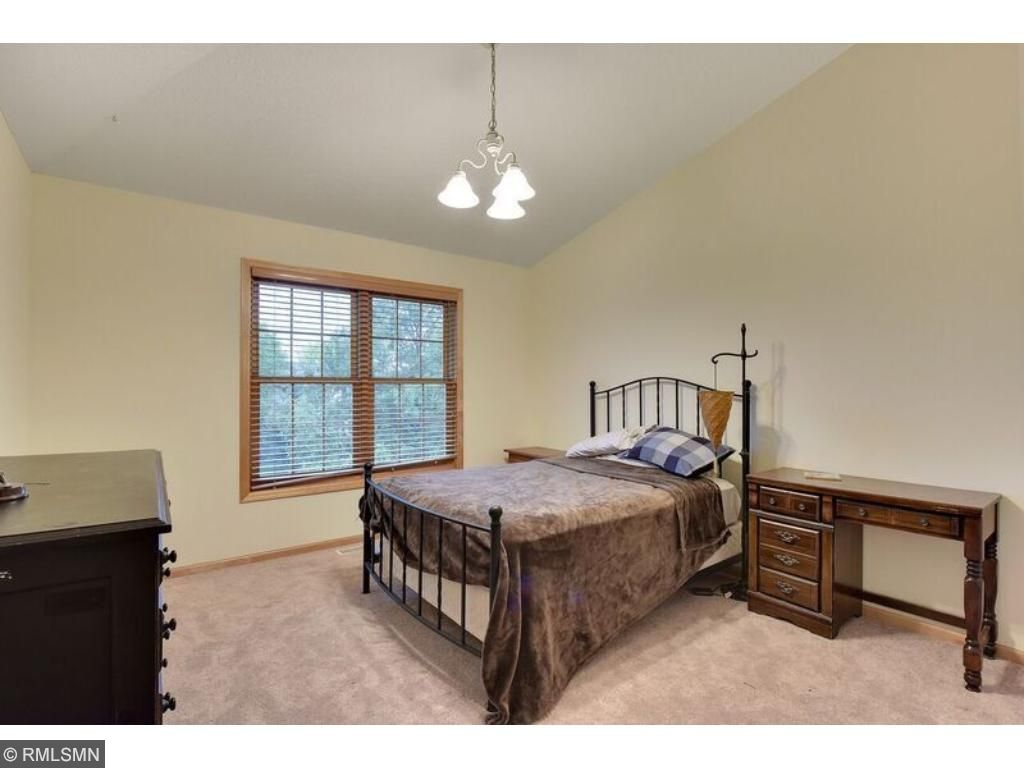 One of three additional spacious bedrooms on the upper level, for a total of four bedrooms on the upper level.