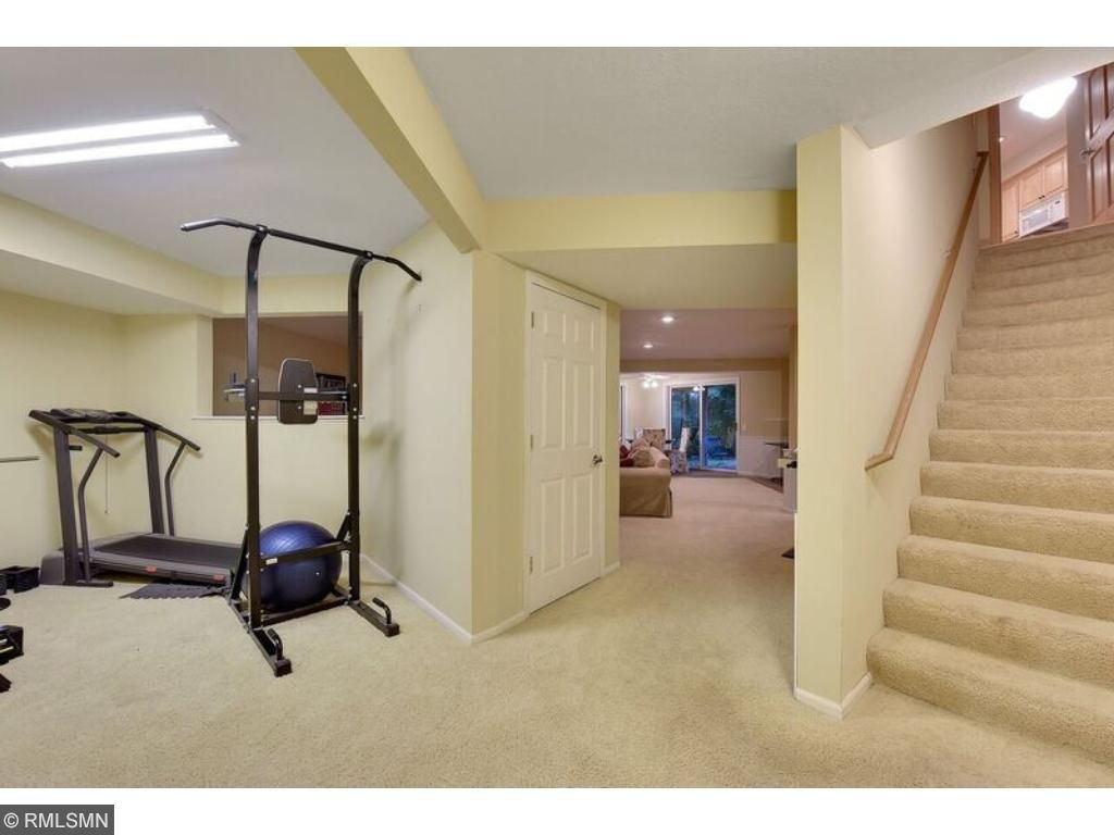 Awesome finished lower level with additional unfinished space to add square footage! Enjoy an exercise room right in your own basement!