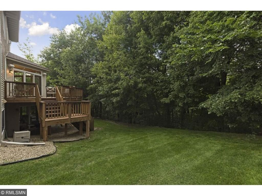 Incredible deck, patio, and private wooded backyard!