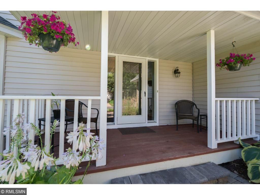 Many relaxing hours will be spent on your front porch rocking chair enjoying the great weather and waving to neighbors as they go by.