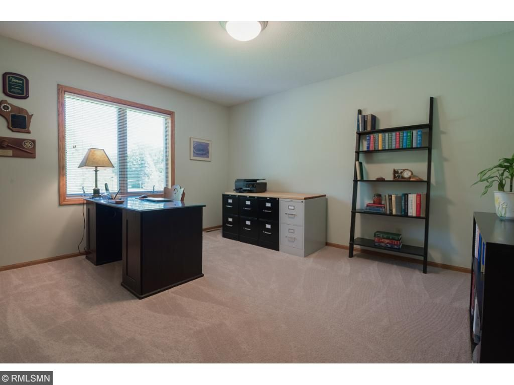 This 3rd bedroom currently doubles as a home office.