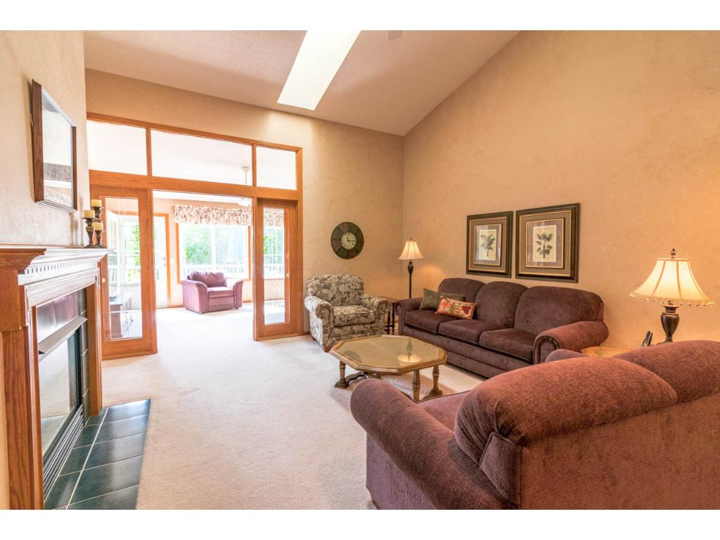 Welcome Home To 18647 Kalmar Trail, Lakeville. Great View Out To The 4
