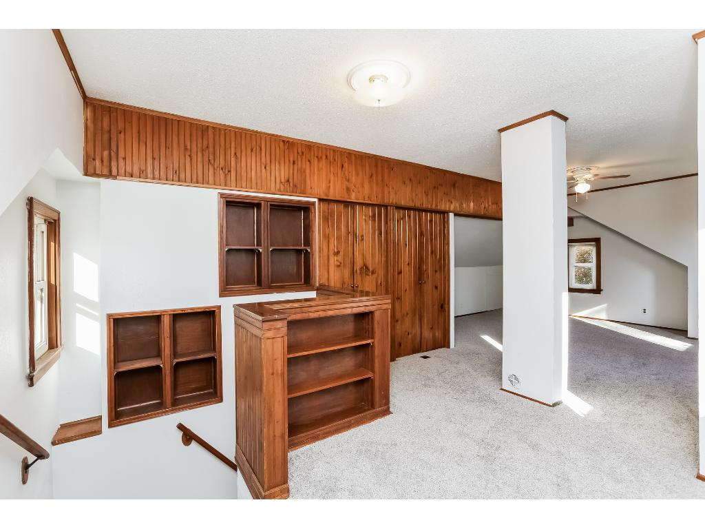 You will not be disappointed with the upper level bedroom.  Perfect for an owner's suite and complete with new carpet.