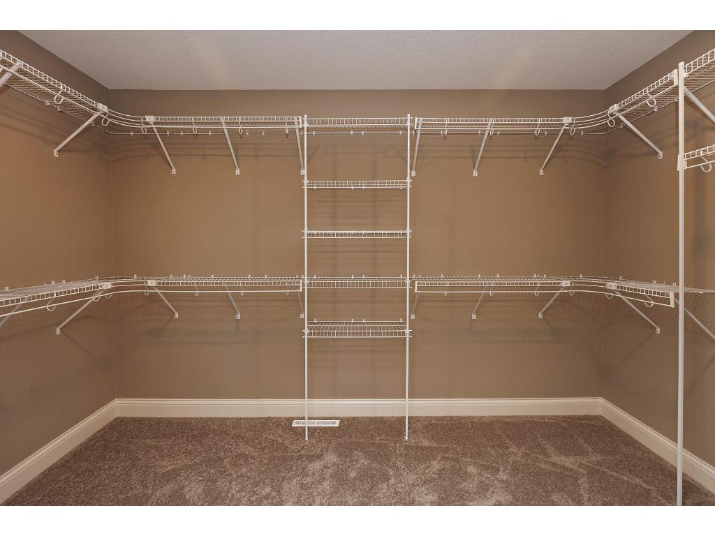 Large Walk-in Master Closet