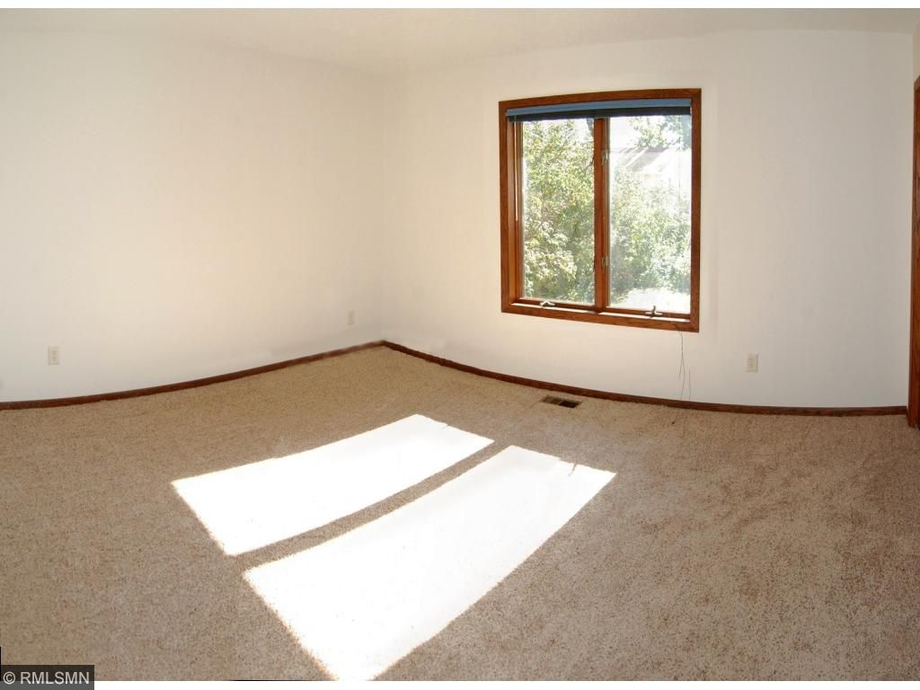The master bedroom has great natural light
