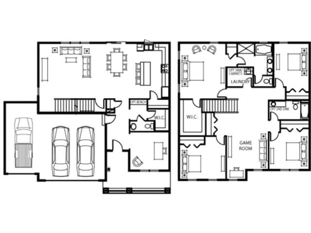 The Graham floor plan