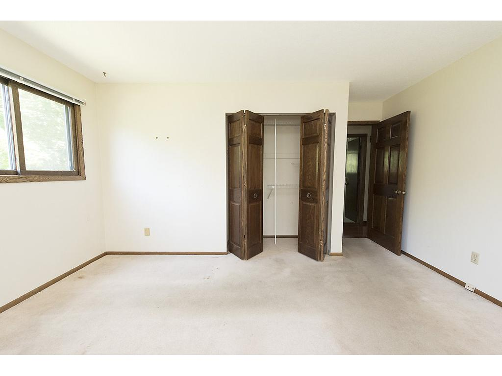 4 large bedrooms!  All with walk in closets!