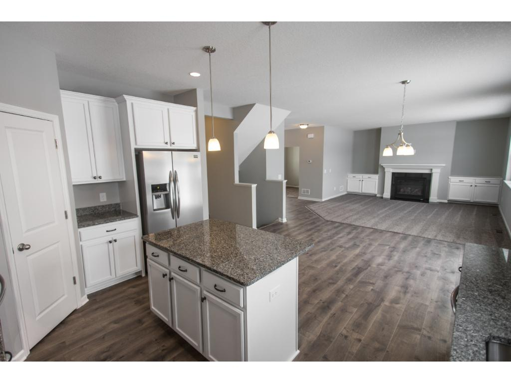 Open floor plan with great natural light and spaces well used. Basement finish included