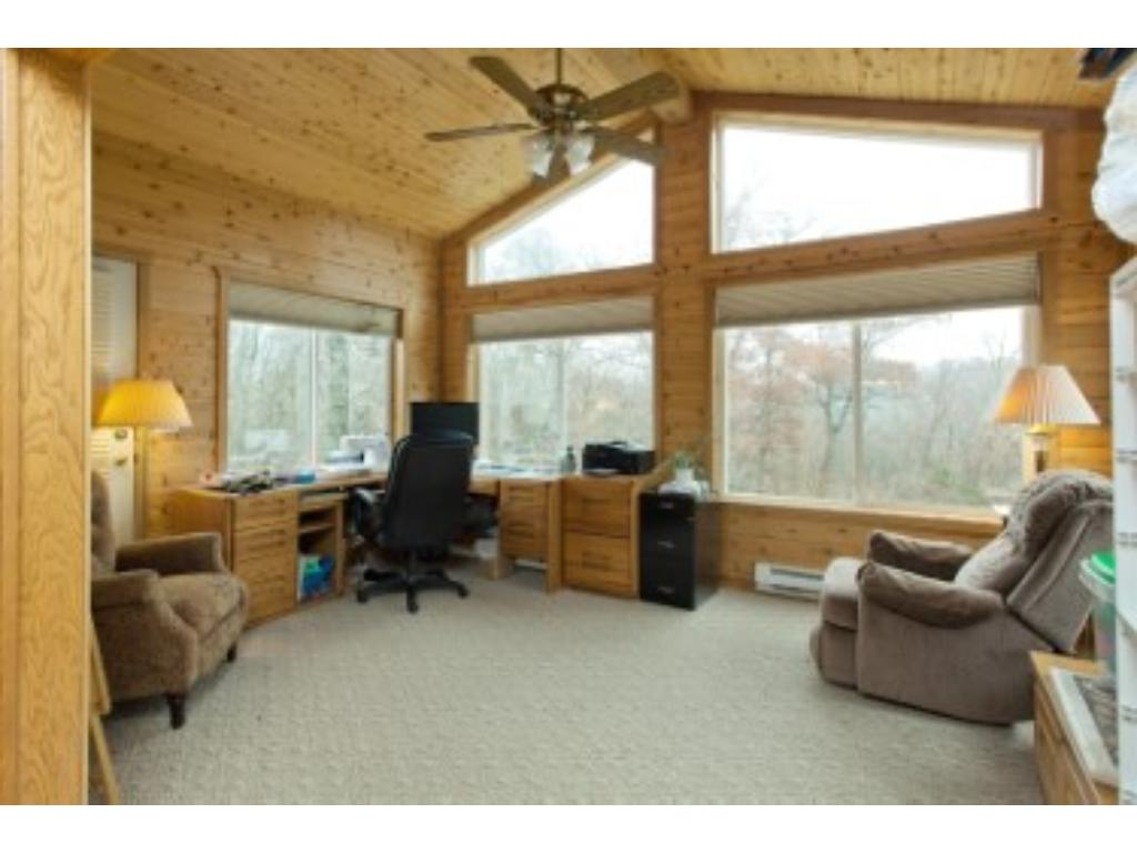 your office overlooking the river