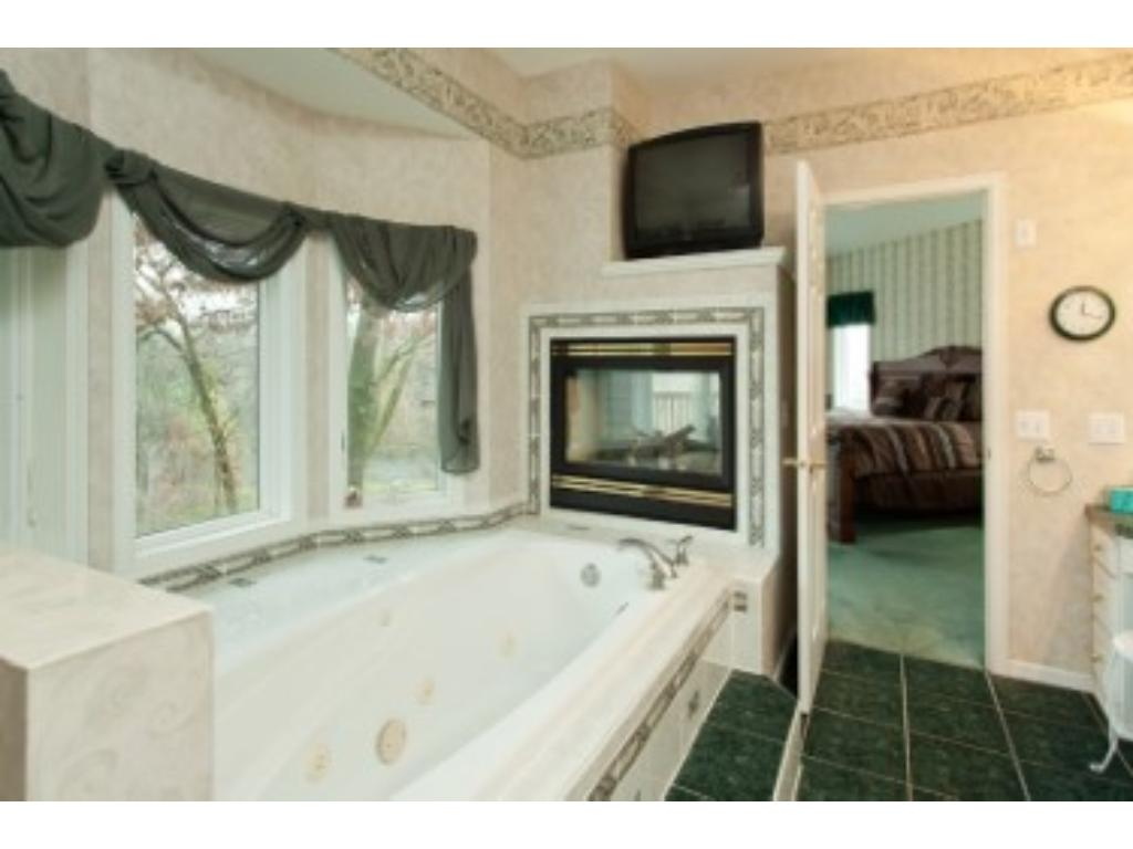 relax in the Jacuzzi tub