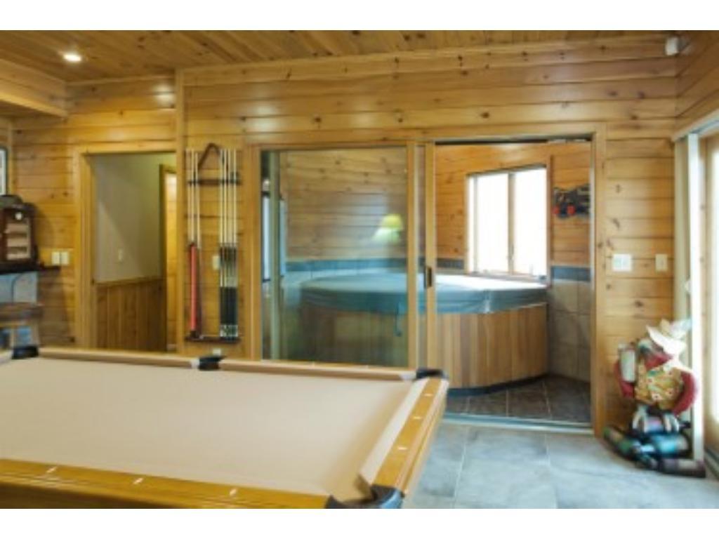 separate spa room