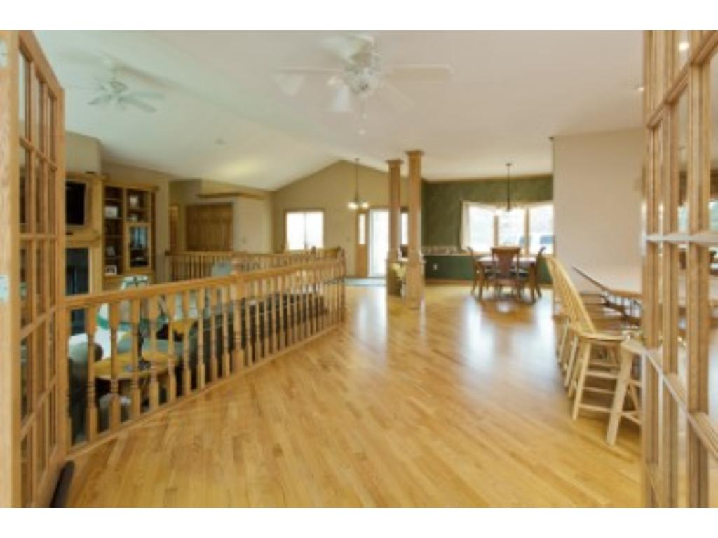 large open kitchen, great for family gatherings