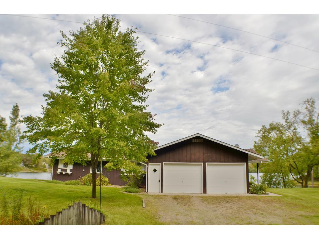 Two stall garage and front yard with more room for entertaining!
