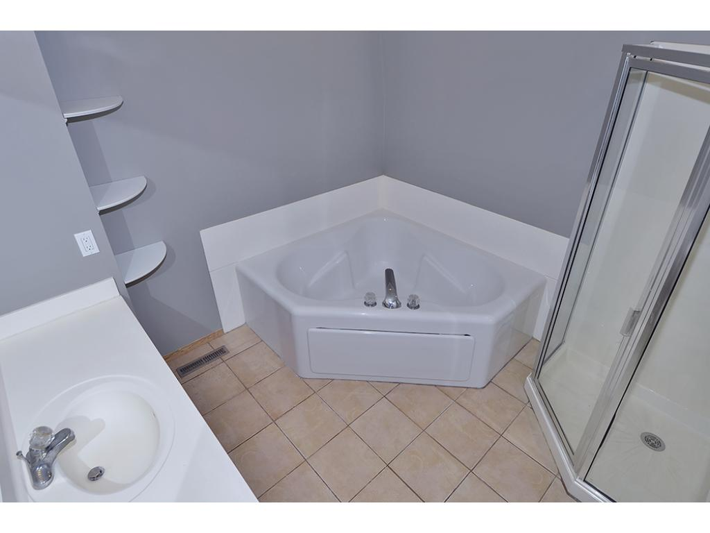 Spacious Second Floor Bath with Separate Shower