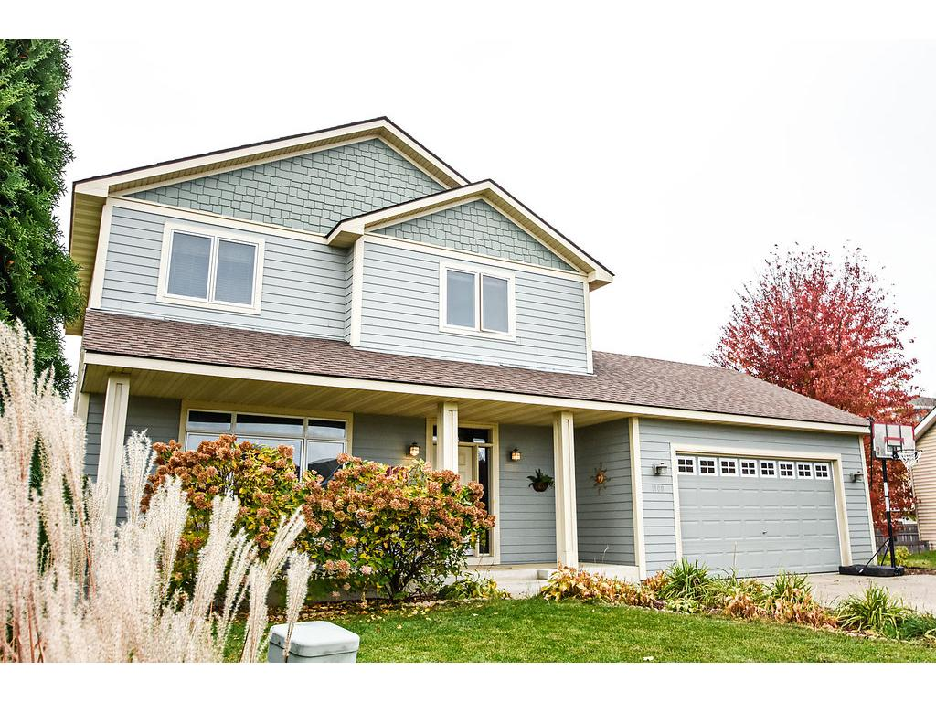 Very cute two story home near soccer field and park.