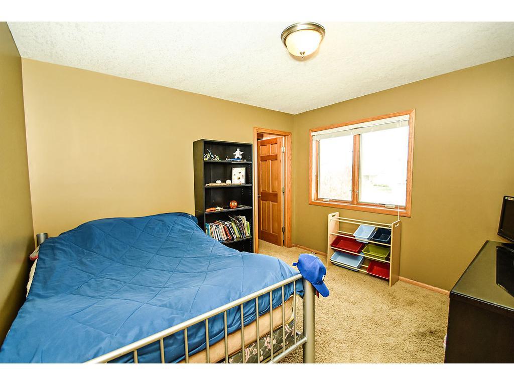 Third upper level bedroom.