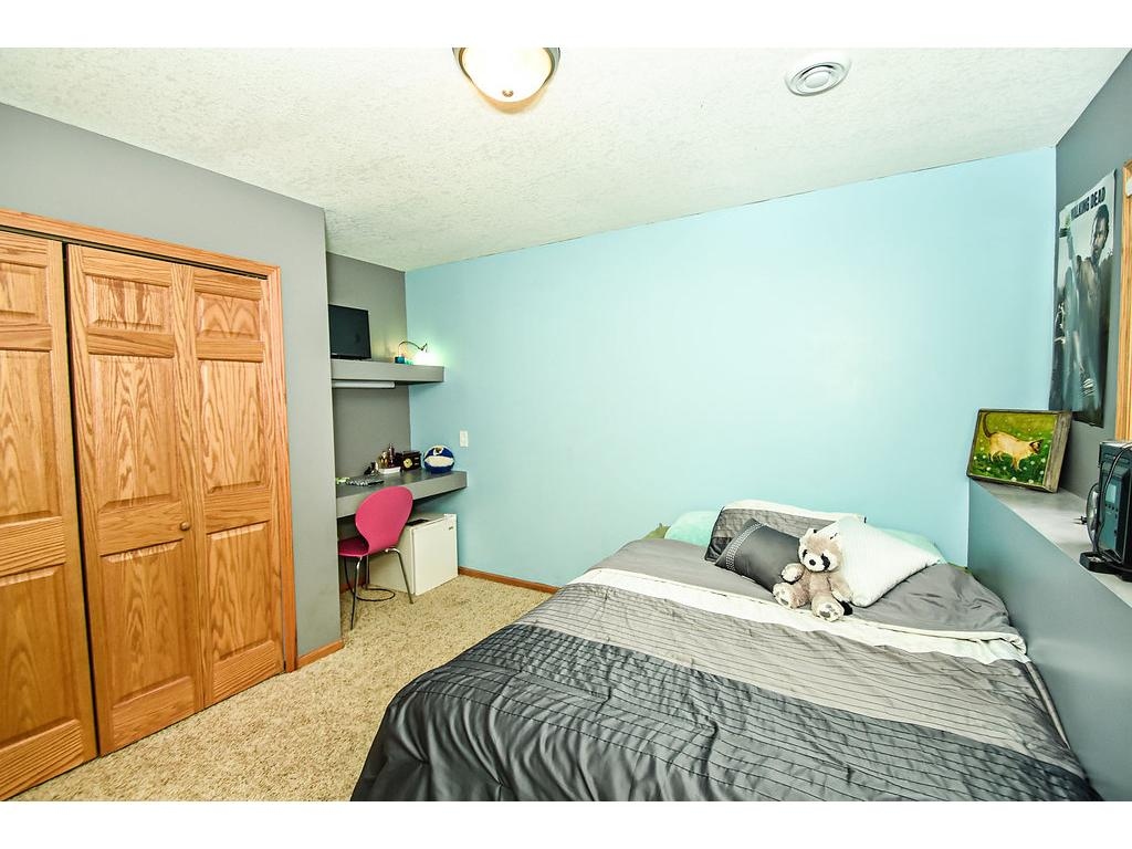 Lower level fourth bedroom.