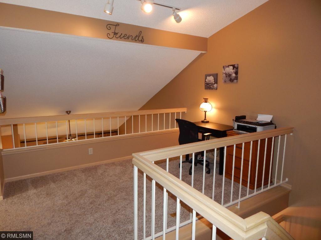 Loft overlooks Living Room
