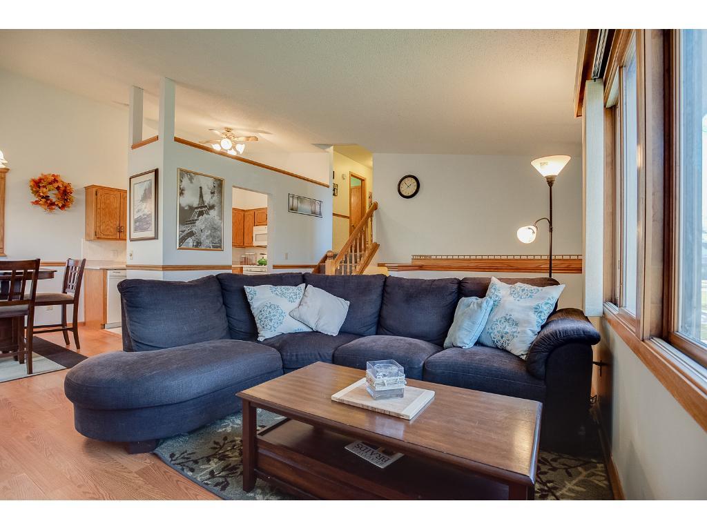Plenty of room in main floor living area