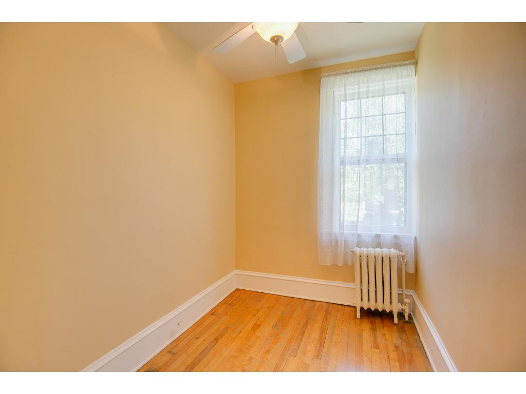 Charming upper level office or den with hardwood floors!