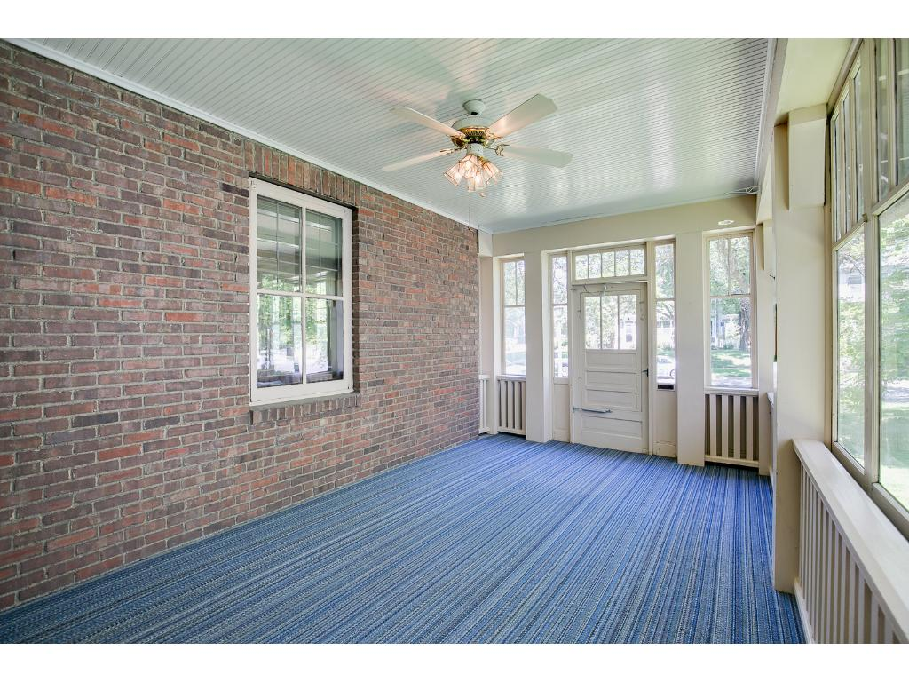 Stunning front porch welcomes you into this terrific home!