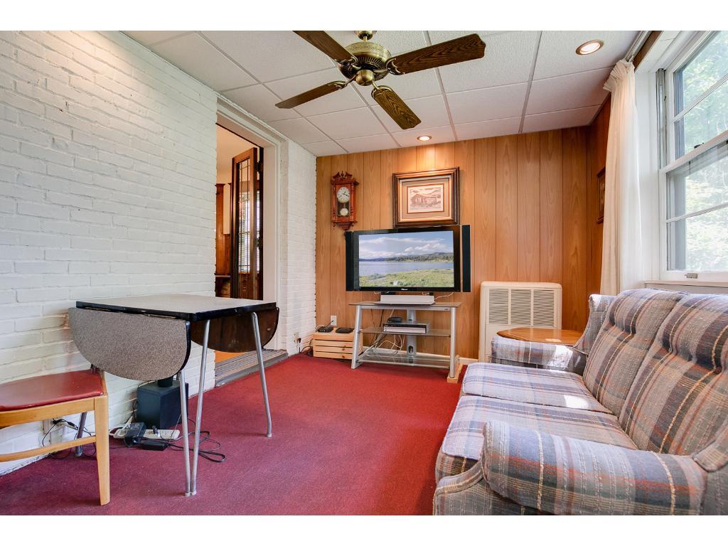 Sunny main floor family room!