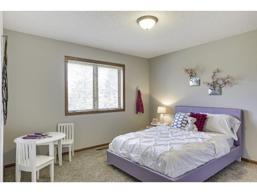 2nd Bedroom offers two Closets and good space.