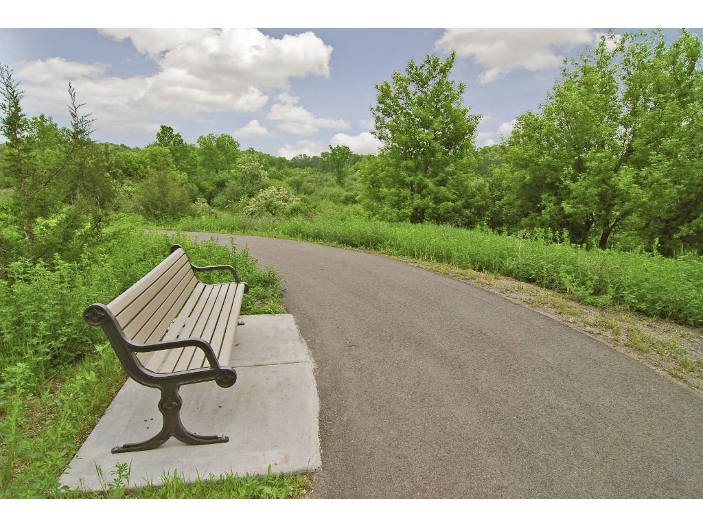 Wonderful walking and biking paths. Don't miss out!