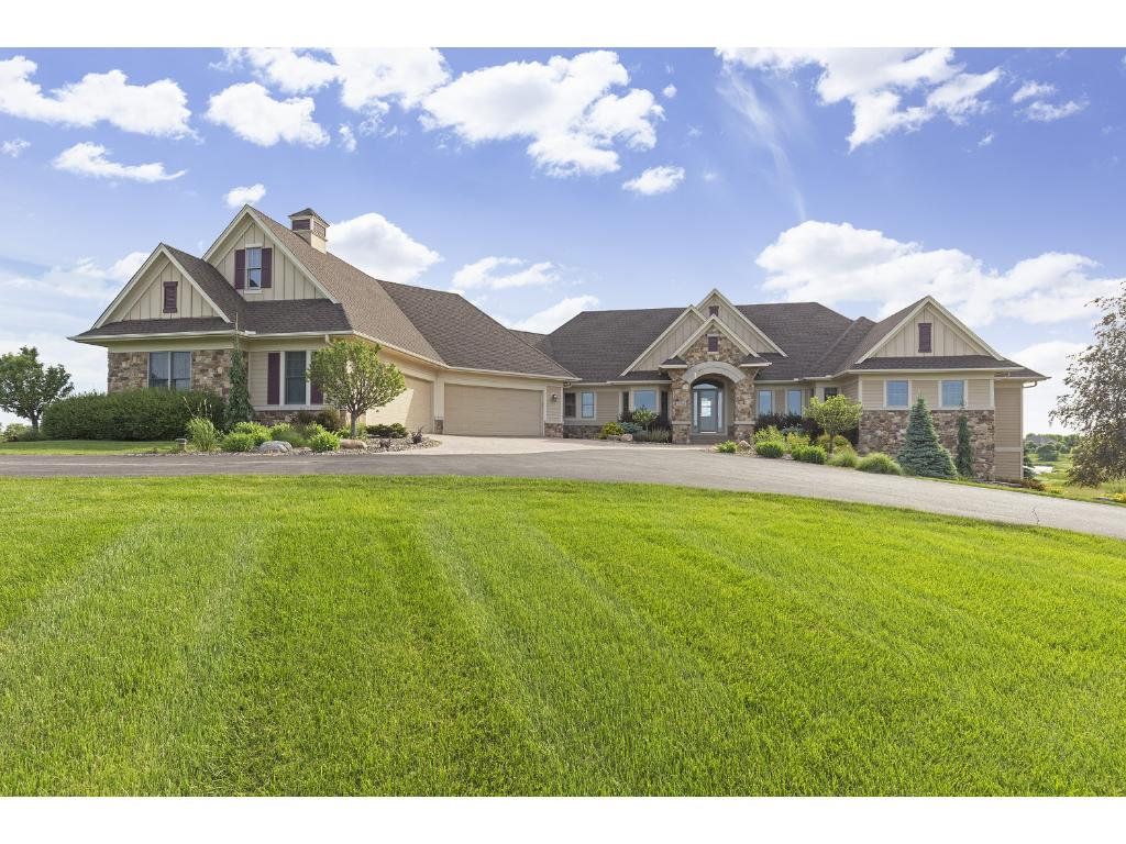 Beautiful home situated on 2.71 acres.