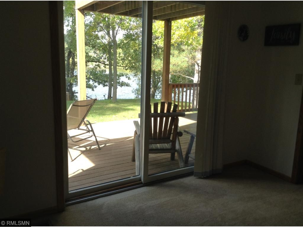 Den with closet and lake view could be 4th bedroom