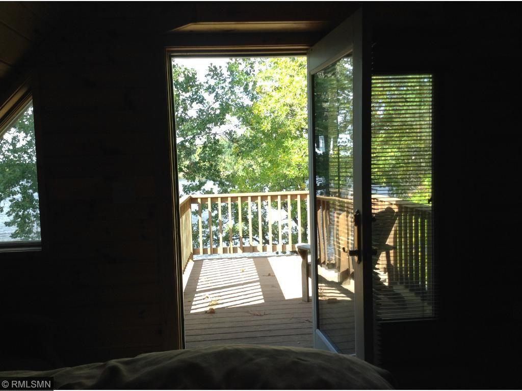 Deck off upper bedroom