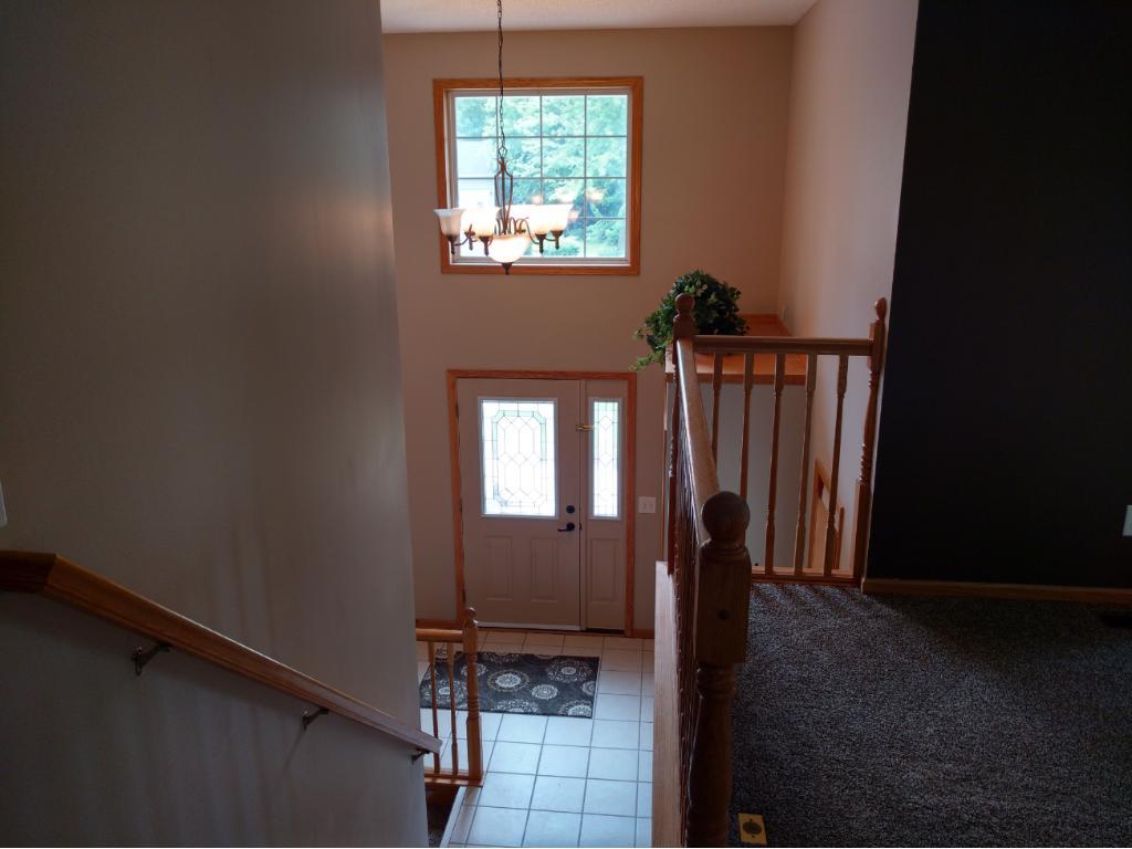 Large open foyer