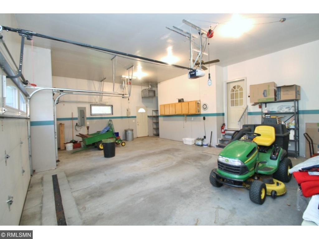 "The garage is an excellent ""Man Cave"" as it is insulated, sheet rocked and heated..."
