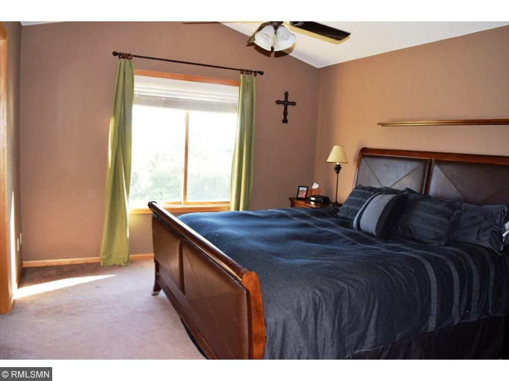 Owner's Bedroom is vaulted, has ceiling fan & great walk-in closet.