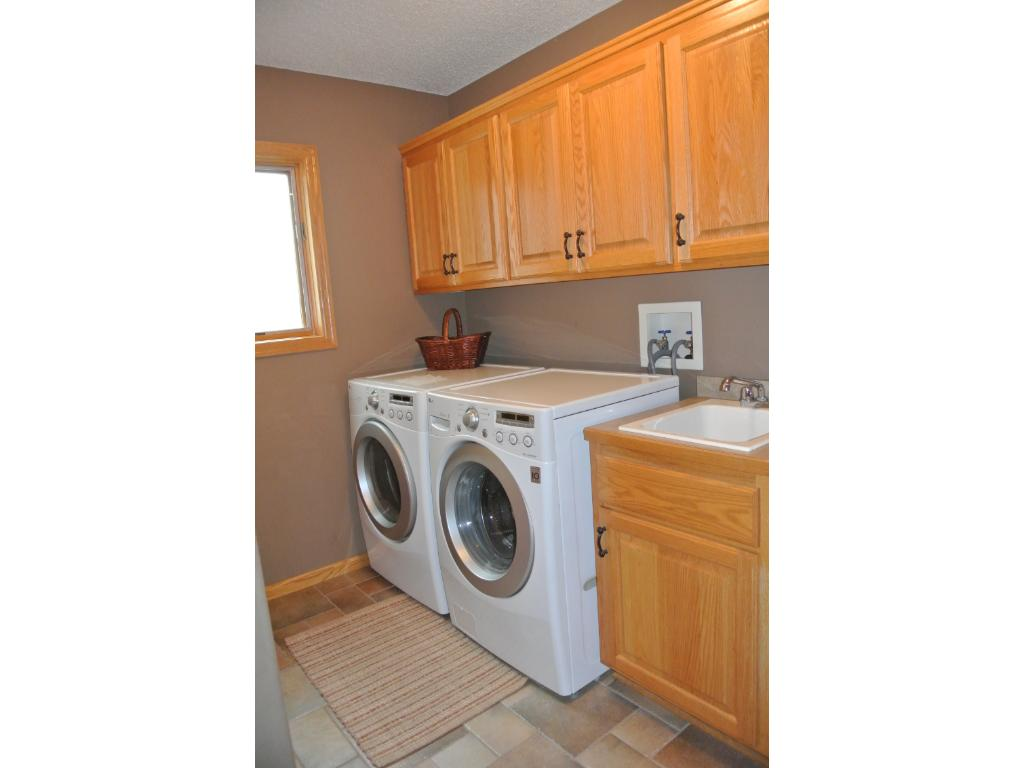 Main level Laundry-Mud Room directly off garage entrance.