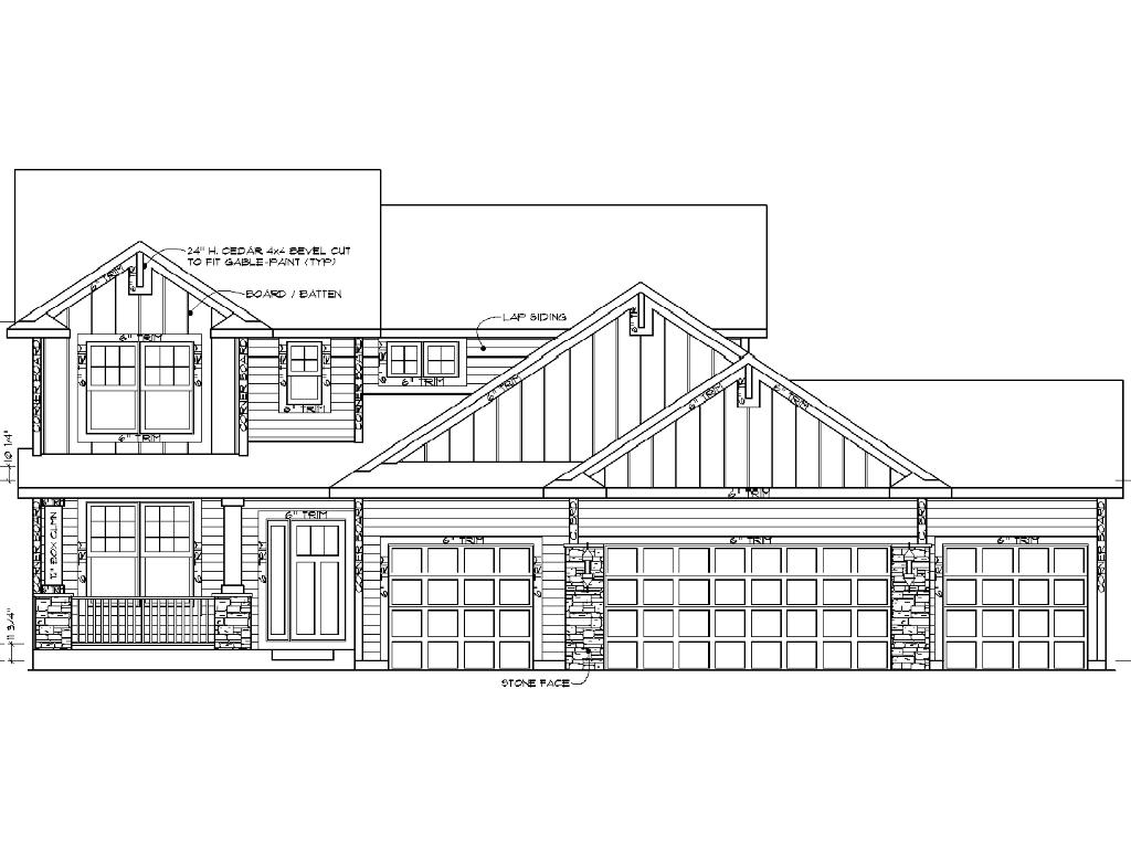 Artist rendering - home is under construction - colors and options will vary