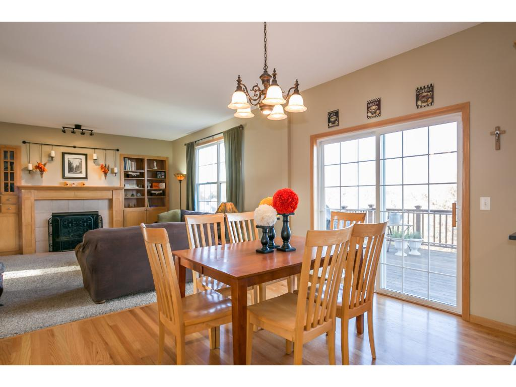 This home has an informal and formal dining areas.  This is a great house for entertaining.