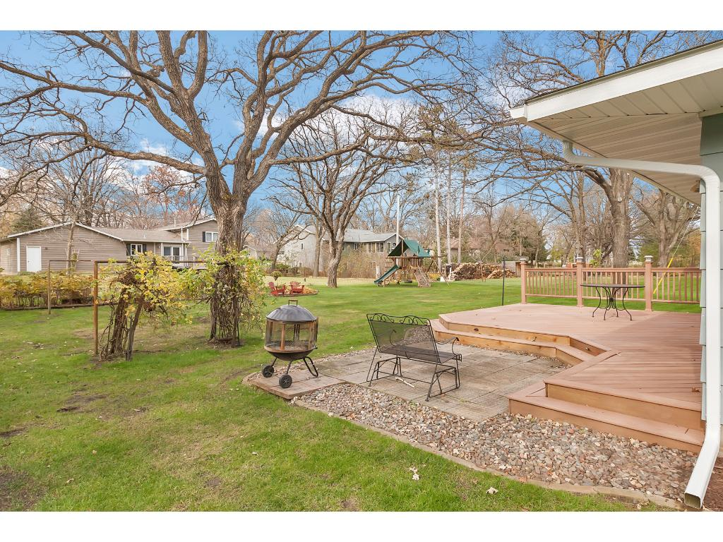 This .6 acre lot is masterfully landscaped and well maintained!