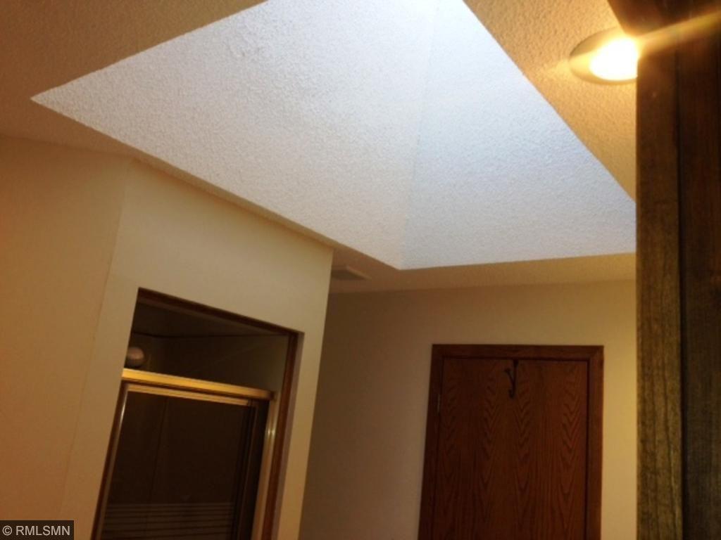 Skylight in Bathroom.