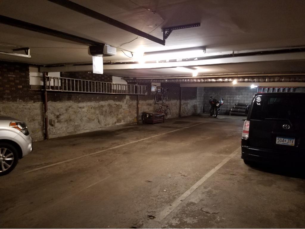 Off Street, underground parking