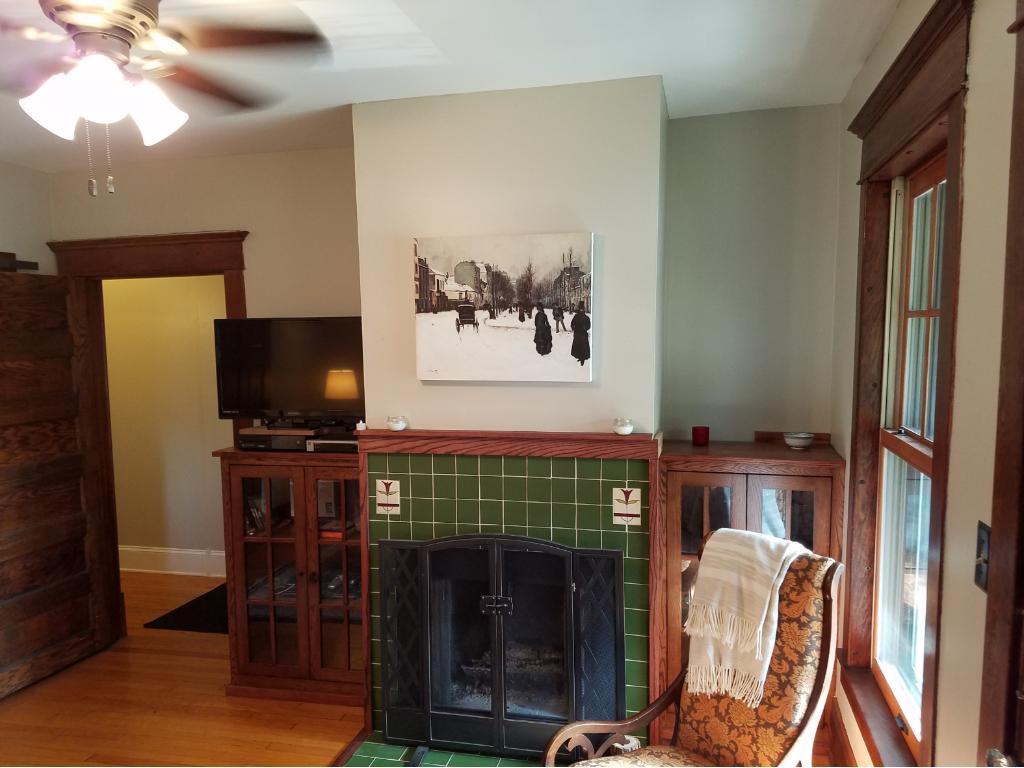 Custom cabinets & HANDMADE tiles!