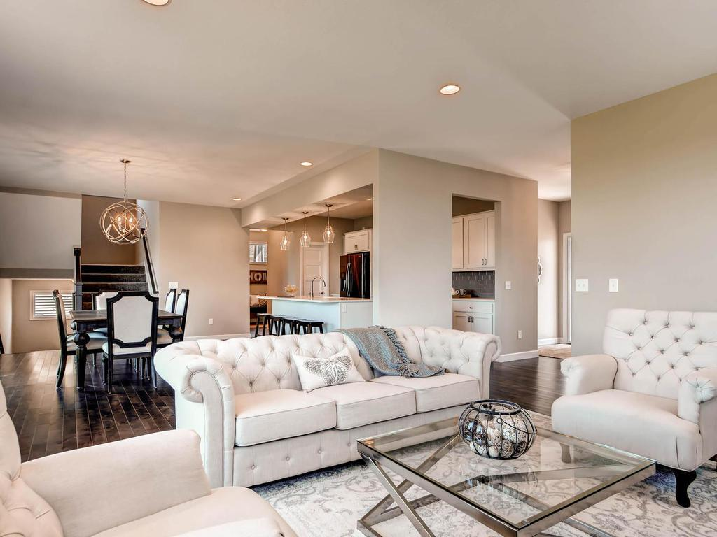 Similar Home Design & Finished Home by Thorson Homes
