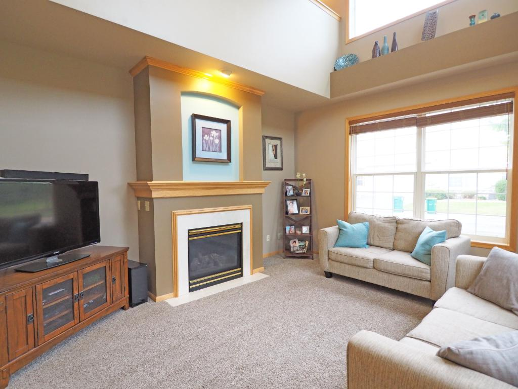 This is a great room with plenty of space to make yourself at home.